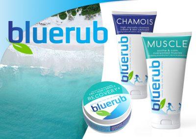 bluerub.com – Branding, Website & Graphics